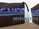 pouch batik imitasi